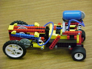 локомотив Lego марка 2